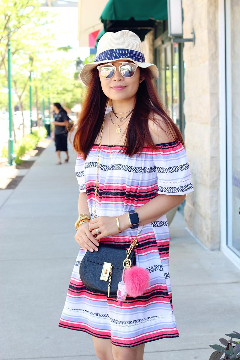 hat-target-dress-summer-outfit-chloe-crossbody-bag-4