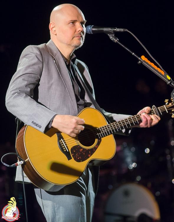 Billy Corgan of Smashing Pumpkins and Liz Phair in Detroit