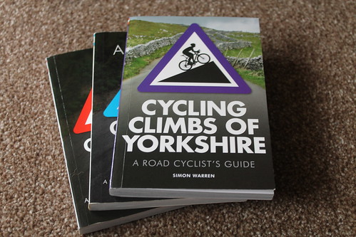 Cycling Climbs of Yorkshire - A Road Cyclist's Guide Simon Warren review