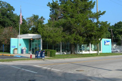 Green Cove Springs, FL post office | by PMCC Post Office Photos