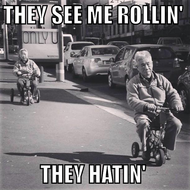 8888585332_59ca852cbf_z rollin hatin meme asian grandpa senior seniors lol flickr