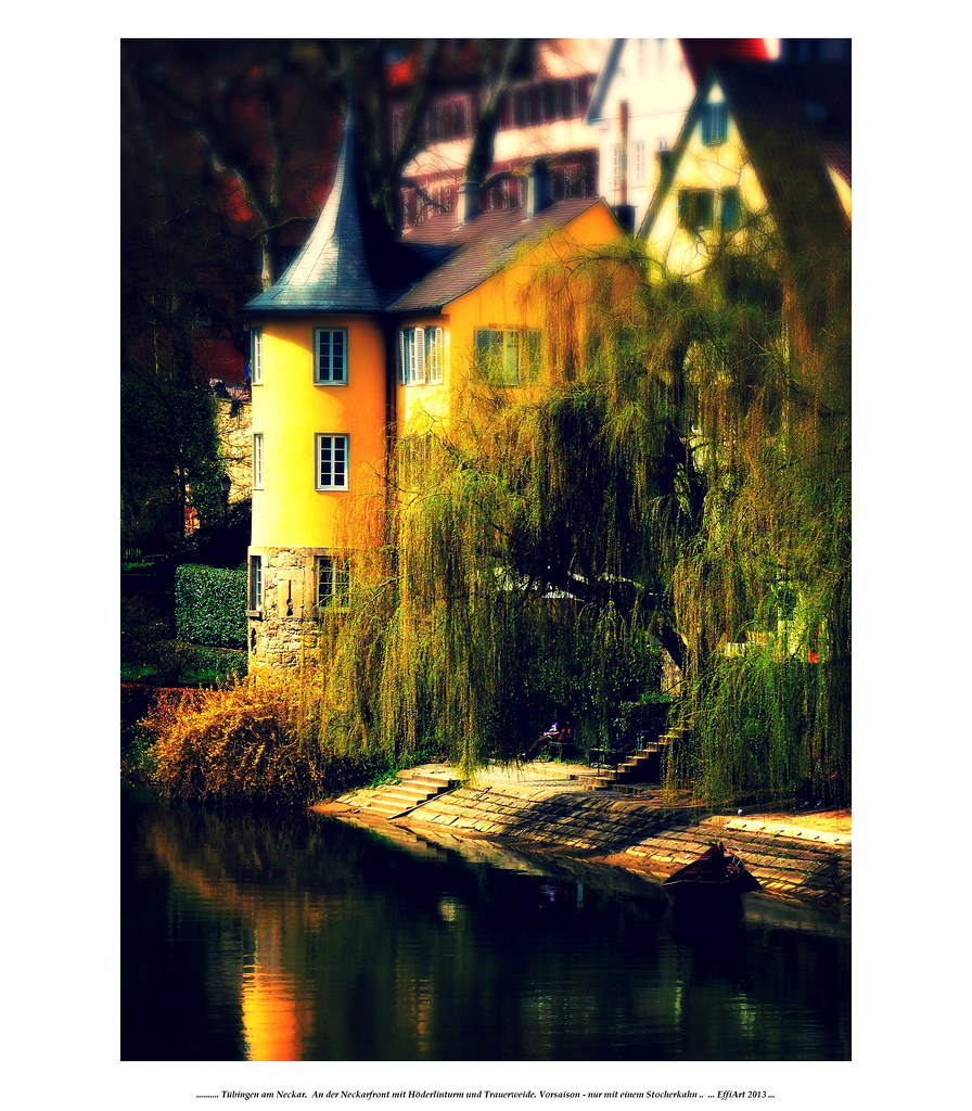 Höderlinturm - Tübingen am Neckar | by eagle1effi