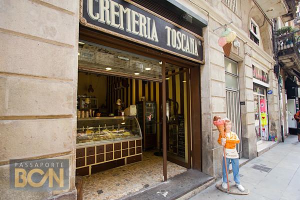 melhores sorveterias de Barcelona: Cremeria Toscana