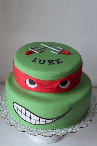 Turtle Ninja Cake Double Chocolate Cake With Chocolate