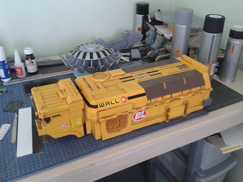 WALL-E TRUCK MOD.   Flickr
