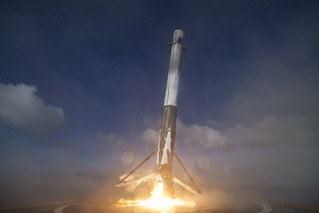 THAICOM 8 first-stage landing | by Official SpaceX Photos