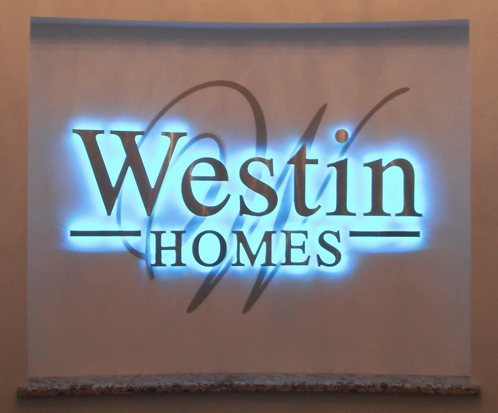 ... Inspire RGB Used To Backlight A Sign For The Westin Homes Design Center  In Sugar Land