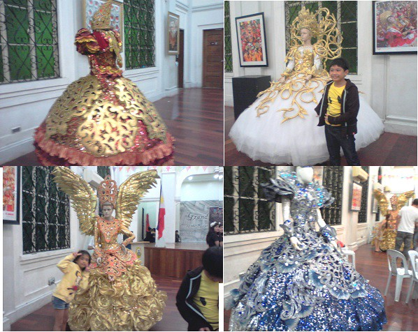 Sinulog Festival Queen Gowns at the Cebu City Museum   Flickr