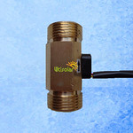 Hall Effect Liquid Flow Meter Sensor-Ultisolar New Energy