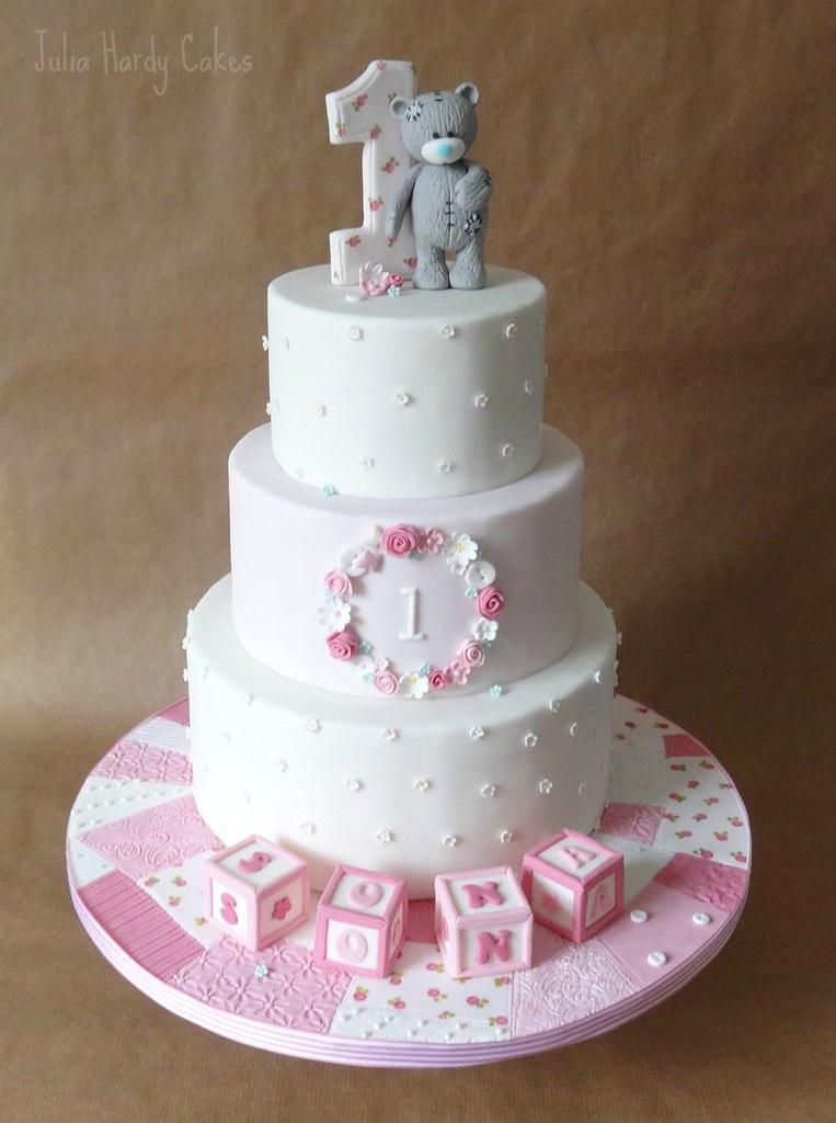 Tatty Teddy First Birthday Cake This Is Little Sonas Big Flickr