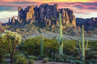 Superstition Mountains | by D. Scott Taylor