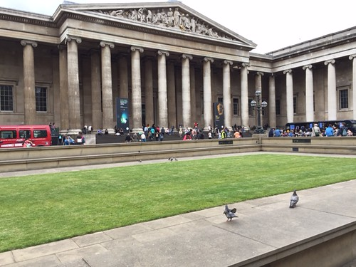 Image of The British Museum in London, England
