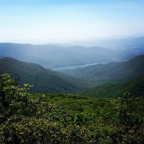 Craggy Pinnancle Blue Ridge Mountains | by newgreenmama