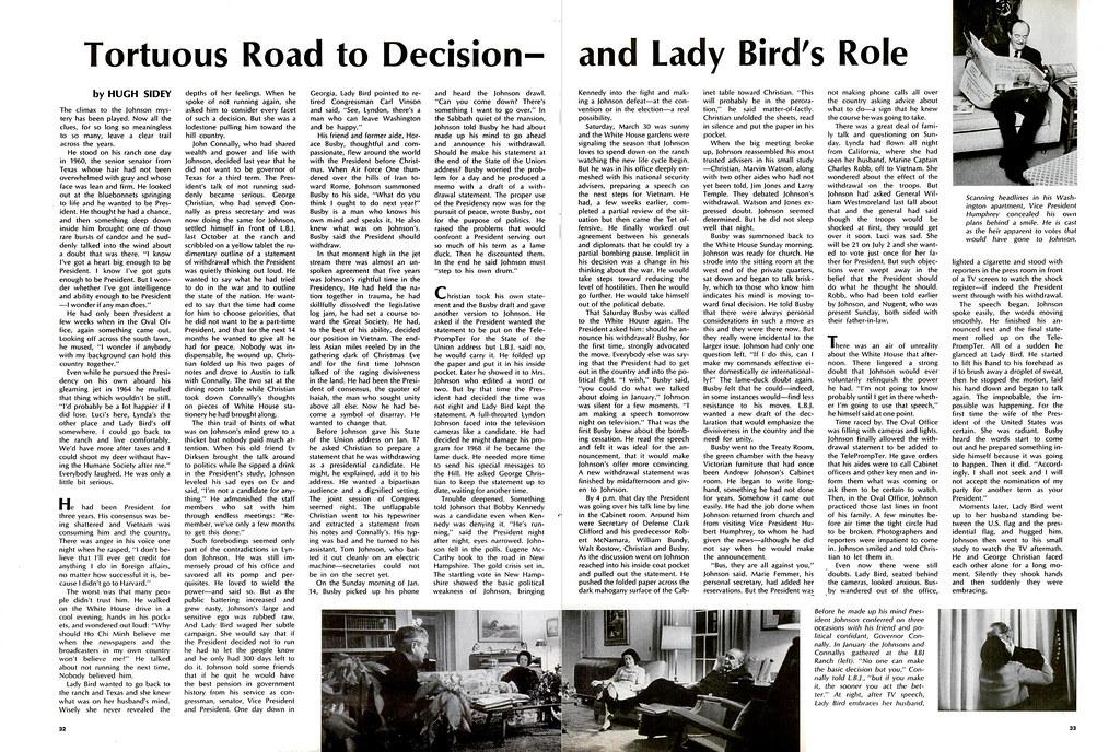 LIFE Magazine April 12-1968 (5) - Tortuous Road to Decisio