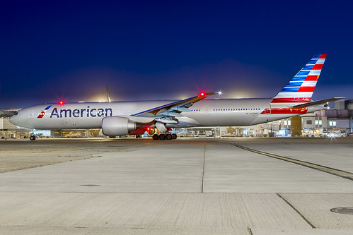 N720AN American Boeing 777-300 LHR | by iesphotography
