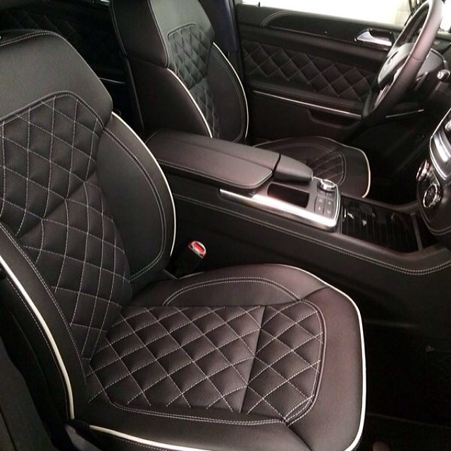 ... #gl #gl500 #custom #leather #interior By #russiantuningcompany #