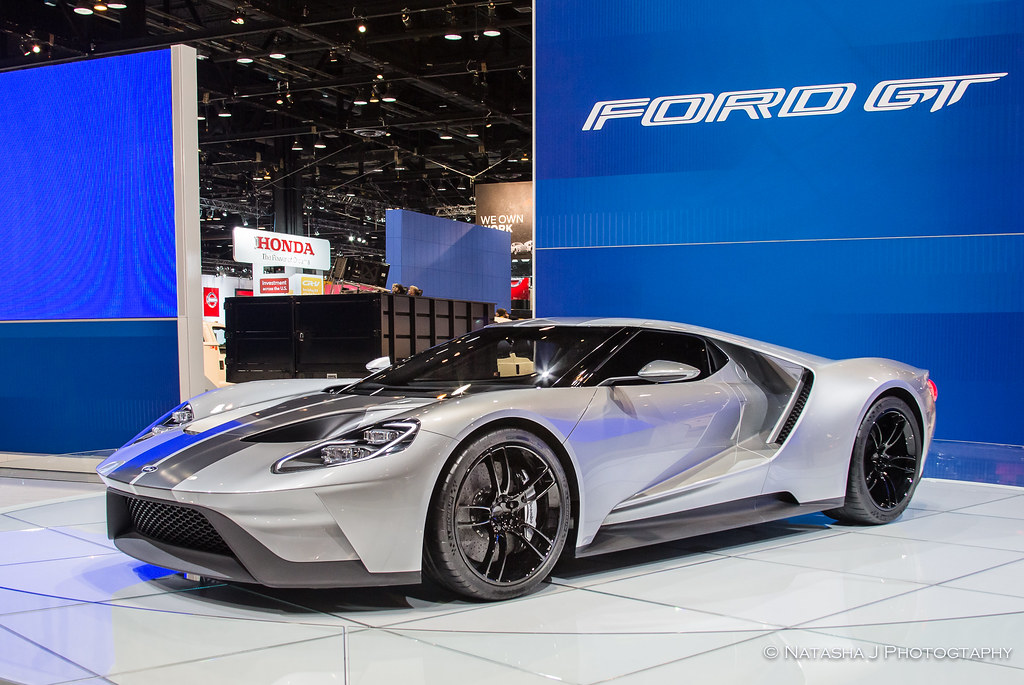 Fords Gt American Supercar To Be Built In Canada Auto Show At Mccormick Place