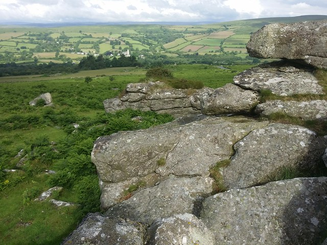 Bovey Rock, Dartmoor