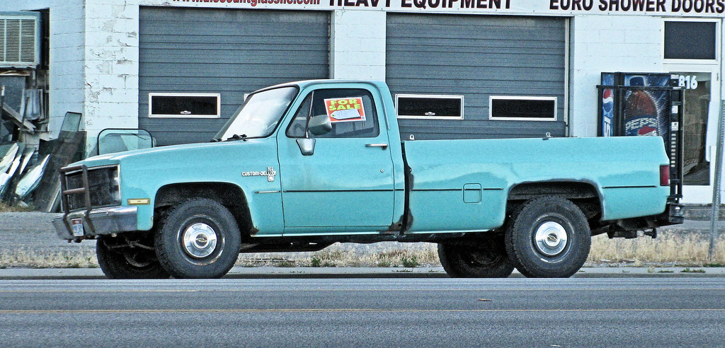 80s Chevy Truck For Sale | Eyellgeteven | Flickr