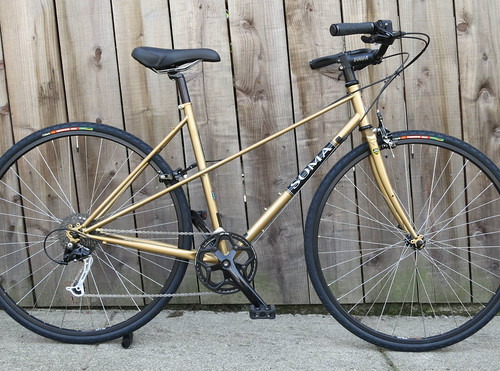 soma buena vista old gold build with black parts by