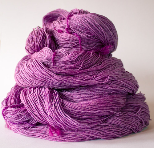 handdyed silky wool | by Lucy-Living
