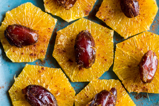 Moroccan orange salad | by lizziemoch