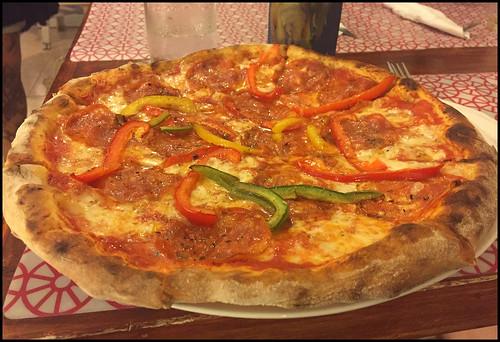 Peperonata Pizza