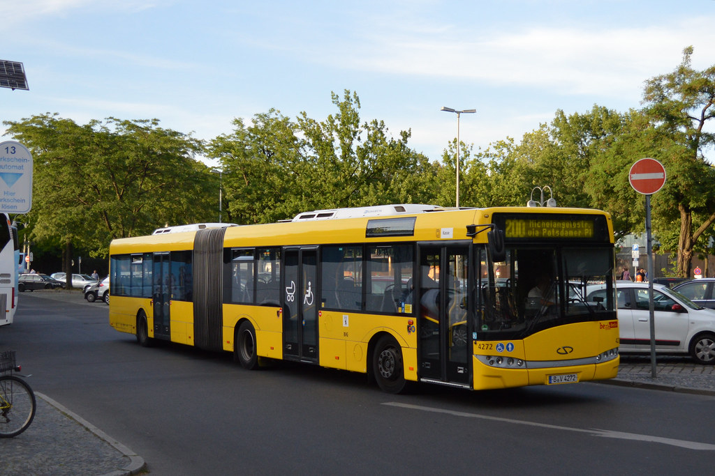 Bvg 4272 Route 200 Berlin Route 200 A Tourist Aimed R Flickr
