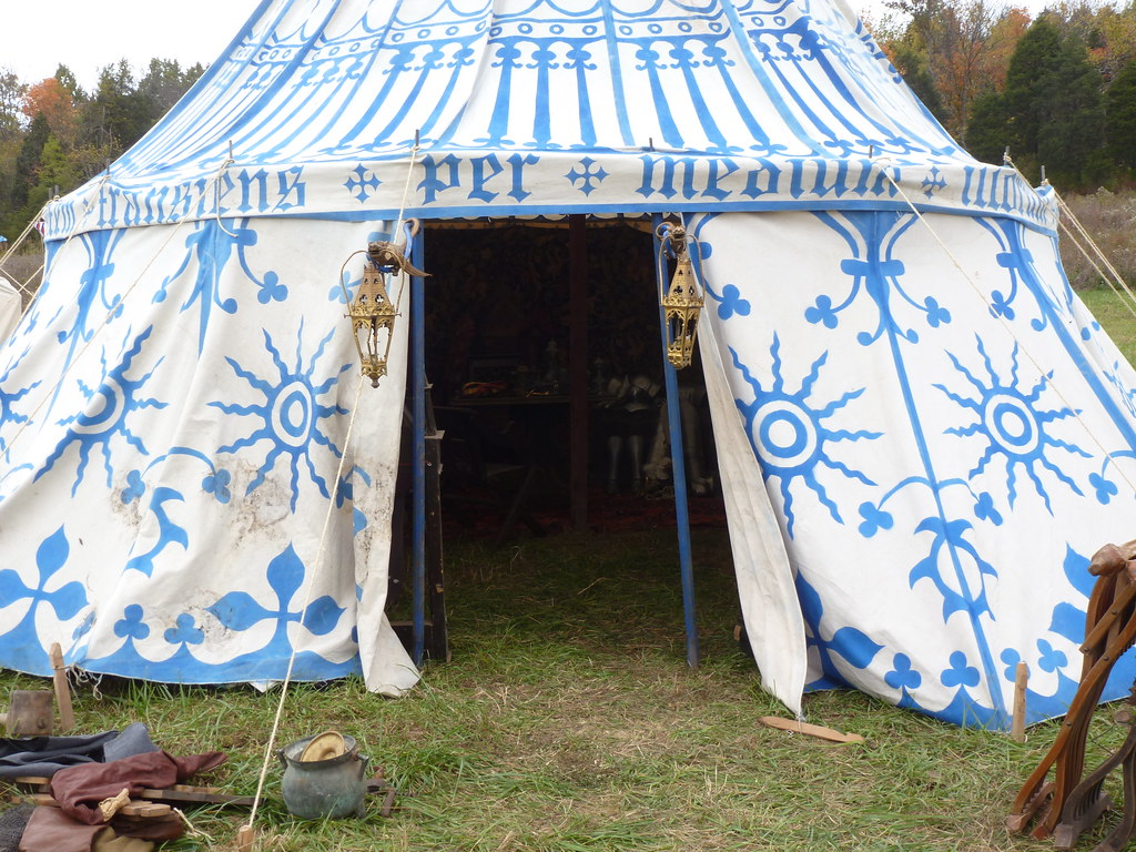 ... Fifteenth century style medieval pavilion tent | by One lucky guy & Fifteenth century style medieval pavilion tent | One lucky guy ...