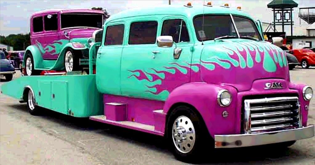 108 Gmc Coe Car Hauler Mrsstainless Flickr
