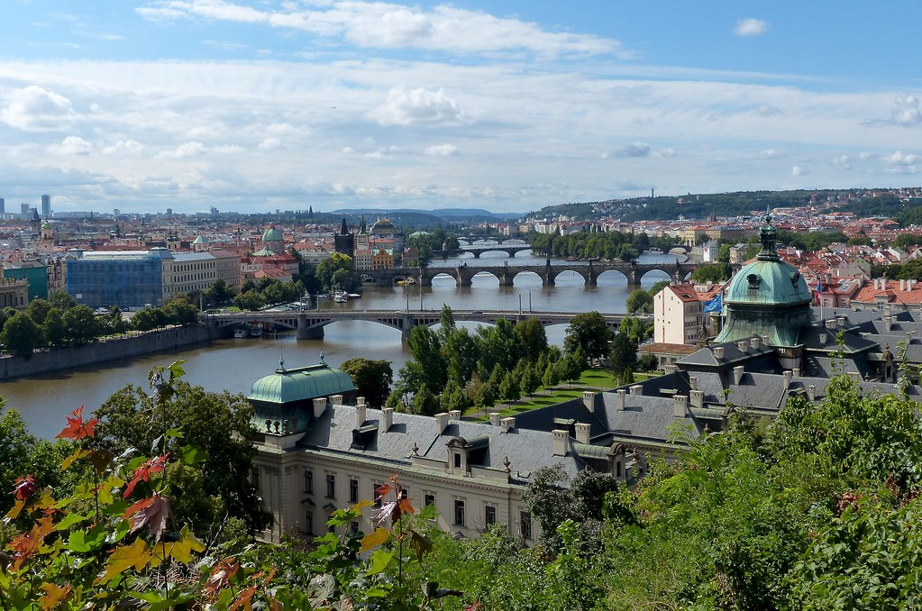 Prague seen from Letna Park