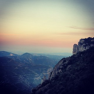 After sunset from the top of Montserrat... | by ♥ Rie ♥