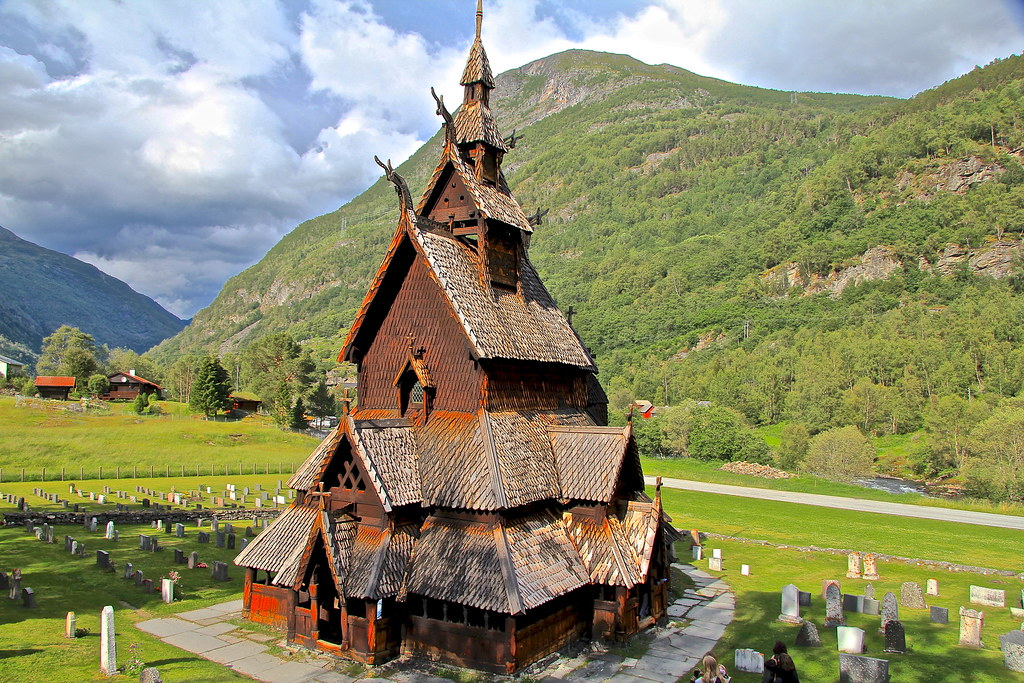 Beautiful ... Borgund Stave Church, Norway | By E.K.111 Photo Gallery