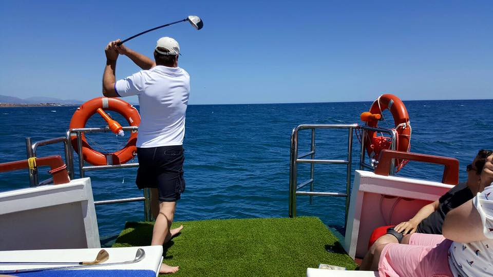 Golf at Sea Experience and jacuzzi boat charter | Flickr