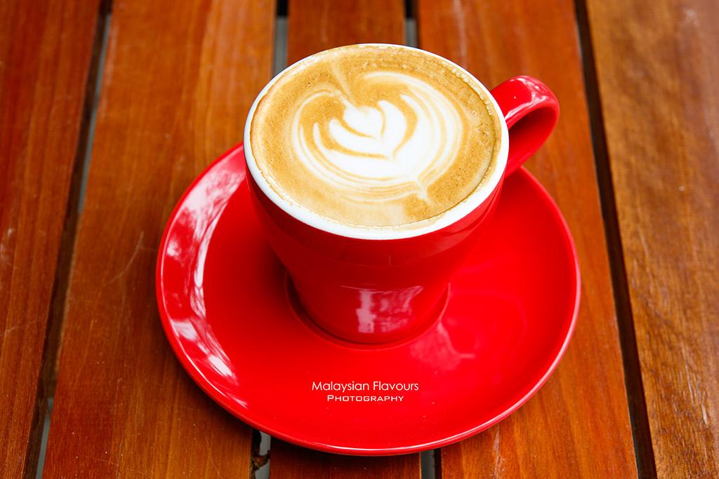 Patissez Cafe Malaysia Bangsar KL flat white