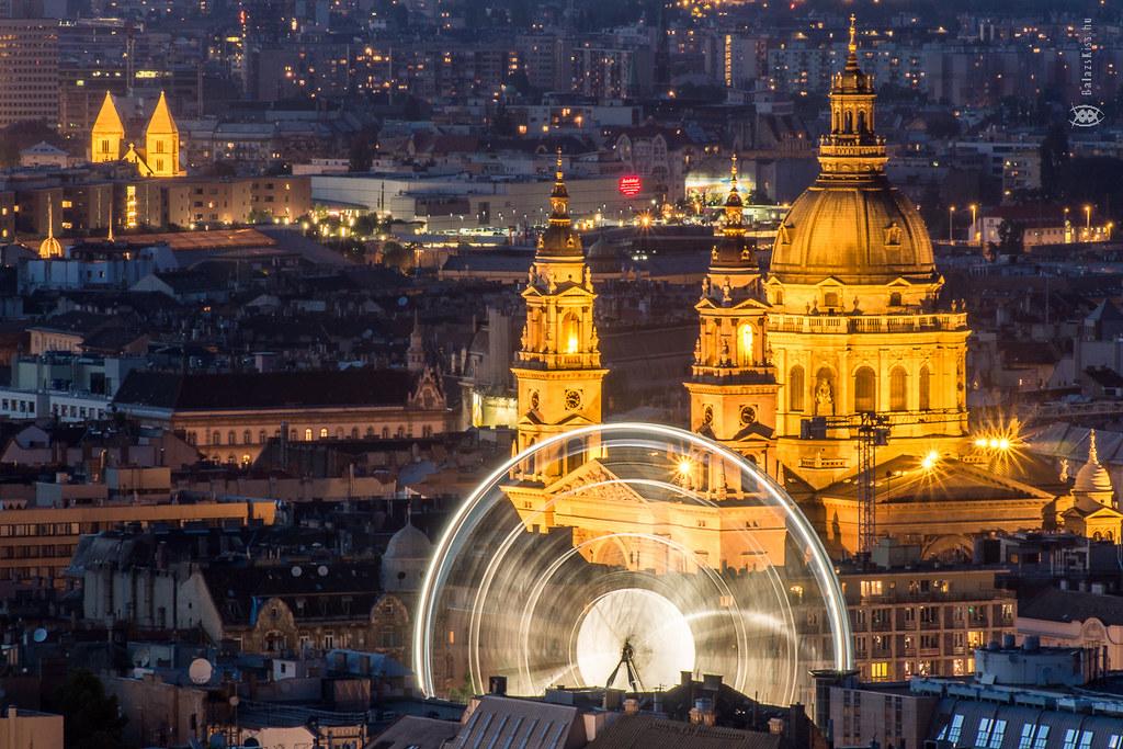 Sziget Eye & St. Stephen's Basilica