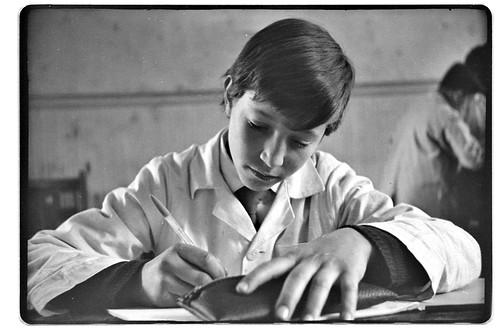 Alumno del Internado Nacional Barros Arana, Santiago, Chil ...