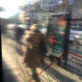 #Berlin #Tram #commute | by Czernay