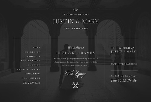 Justin & Mary | Brand, Logo, Mark, Website and Blog Design | by jennifer olmstead