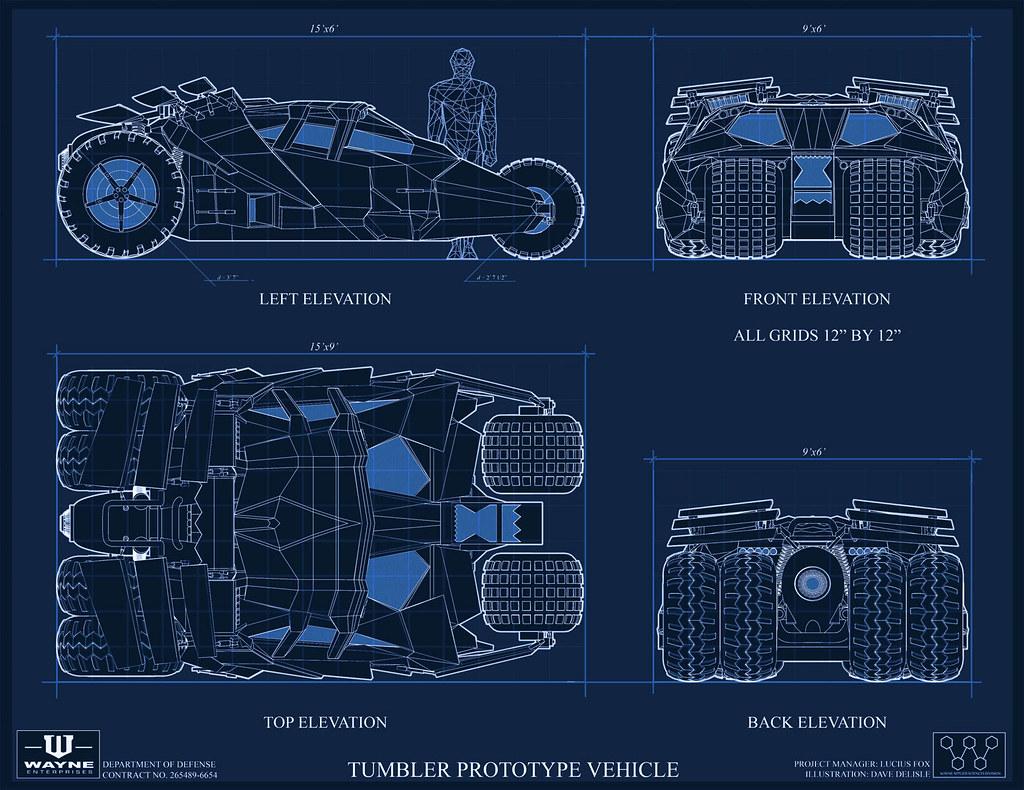 The Tumbler Schematics Diagram - Wiring Diagram on batwing schematics, trailer schematics, batpod schematics,