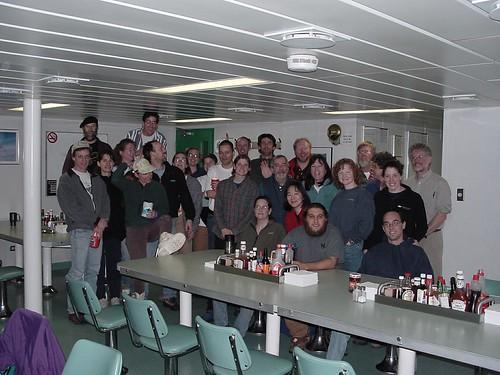 September 2001 Cruise