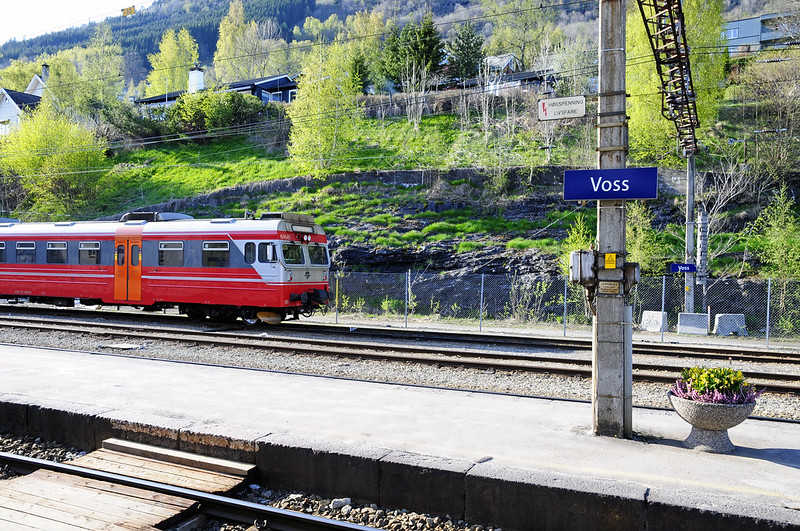 Train ride from Voss to Bergen (2)