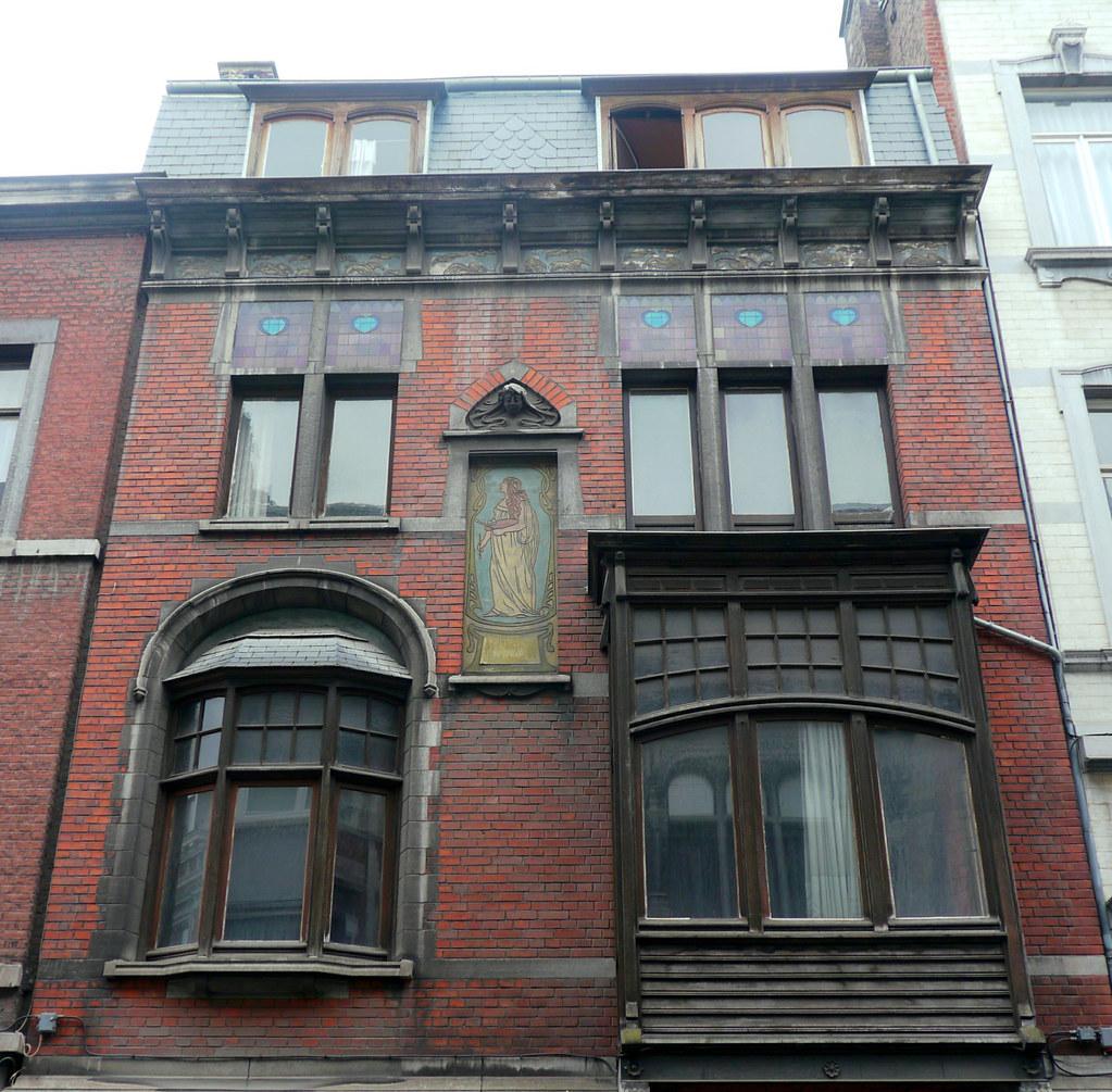 Liège, Belgique: Maison du peintre Jules Alexandre, 1902, … | Flickr