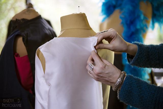 Dans l'atelier de couture de Green Martha à Grenoble