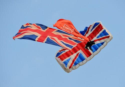 British Army Tigers Parachute Display Team | Jez