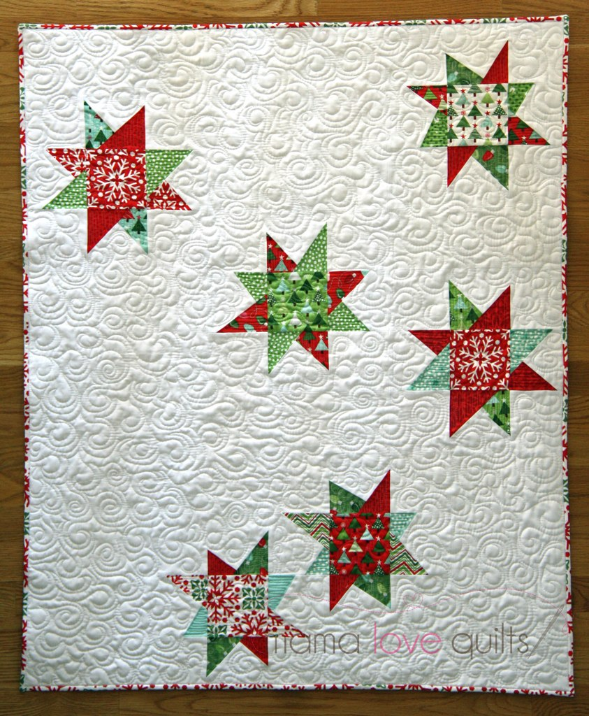 Christmas Tree Quilt   Blogged at Mama Love Quilts   Nicole   Flickr