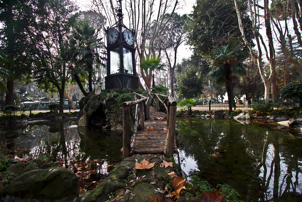 Orologio ad acqua di villa borghese facebook pagesu flickr