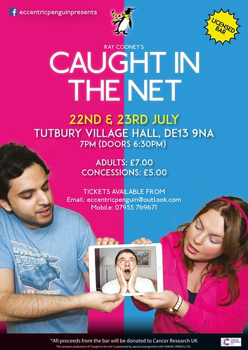 Caught in the Net a play by Ray Cooney Poster | by Daniel HODSON