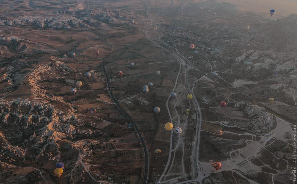 Balloon flights in Cappadocia / Полеты на воздушных шарах в Каппадокии