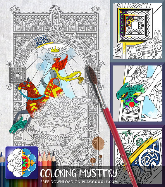 Coloring Mystery